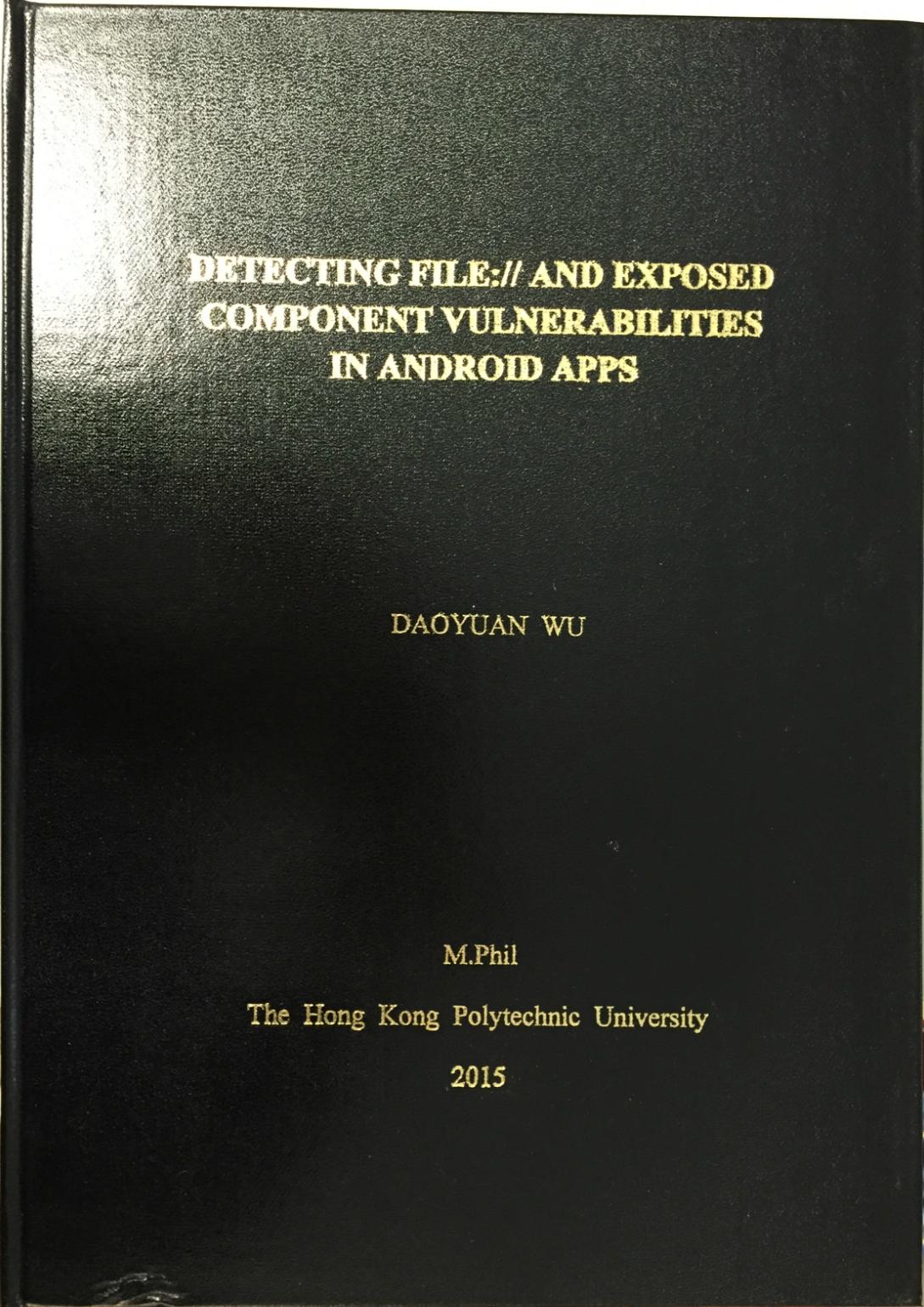 Hong kong polytechnic university phd thesis